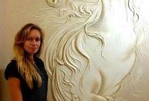 Kone dekor steny❤