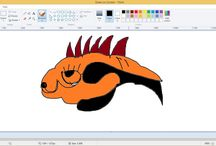 Draw on screen live: How to draw on screen fish.