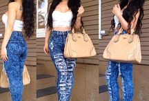 High waisted outfits