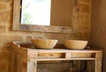 mesa de pallets pra pias