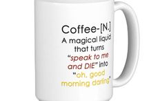 My cup of tea & coffee mug