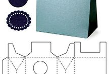 Cajas ,sobres y moños