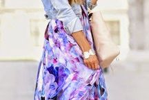 Relaxed Maxi / Maxi Skirt Outfits