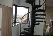 escadas caracol vidraçaria do argentino