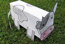 Ik heb dit ook gemaakt ! Het is echt bizar hoeveel je kunt maken van een melk pak!!!  :)