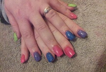 Acrylic Nail Extensions / Acrylic Nail Extensions by Tiger Nails and Beauty including Nail Art
