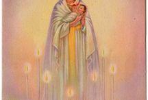 Madonna Mary and Jesus