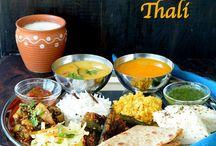 Indian Thalis and Menu Ideas