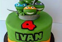 tarta fantasía tortugas ninja