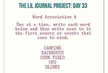 Journal: Prompts / by Amy L0uAldaMay
