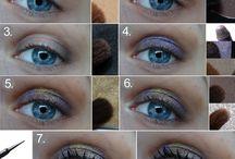beauty nástěnka / nápady na účesy, nehty a makeup