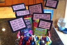 Big sis cheer gifts
