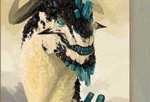 dragon/mineral