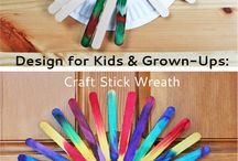Popsicle Sticks Crafts / Never throw away Popsicle sticks! there is so much to do with them... Huge inspiration board