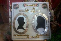 wedding dowry and wedding assesories / rancangan hias uang mahar dan hantaran pernikahan