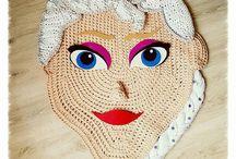 elsa carpet crochet