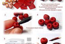 Polymer Clay - Tutorial -  Food /  https://www.facebook.com/MondoDiSisina