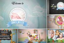 Baby Video ideas / Video baby album, video birthday gallery, birth announcement