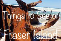 Fraser Island and Moreton Island