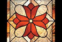 Stain glass paintings