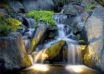 Waterfalls and Swimming Pools