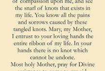 Mary undoer of knots