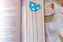 Sew - bookmarks & covers