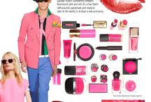 "Color Alert - February 2014 / Color Marketing Group presents ""Lipstain"" - Touched by neon but not electric, Lipstain hovers somewhere between fluorescent and red. It's a hue that's self-assured, passionate and ready to take on the world; or at least a new accessory. Sign up to receive CMG's monthly Color Alerts http://tinyurl.com/q88r74c"