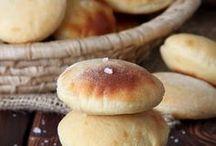 Хлеб, булочки, лепешки, блины.