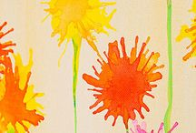 creative paint ideas to do with the kids