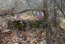Civil war, slaves and the South.