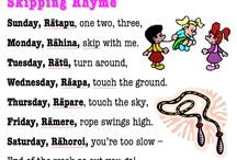 skipping rhymes