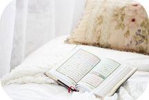 Dîn - Islam / Tableau avec articles, vidéos, audio sur l'islam.
