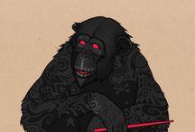 Fan / Monkeys
