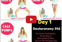 14 Day Workout & Scripture Challenge
