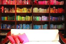 Bookshelves and beautiful spaces to get lost in books