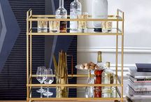Bar Cart Styling / by Maribeth Evans