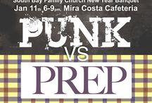 Preps vs Punks