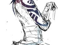 anime tattoo guys