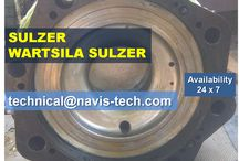 NAVIS-TECH is suppliers of spares for SULZER RTA / SULZER RLA / SULZER RLB engines. / Ship Main Engine SULZER RLA 56,SULZER RLA 90,SULZER RLB 56,SULZER RLB 66,SULZER RLB 76,SULZER RLB 90,Spares for Mitsubishi Engines Procured from good condition vessel coming here for demolition