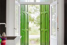 Entryways, porches