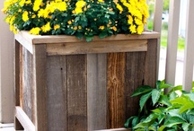 Fence Board Projects / This board is a collection of projects that can be made from fence boards.
