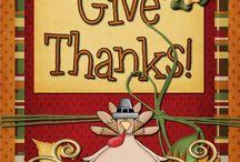 Thanksgiving Ideas / by Cindy Fredrickson