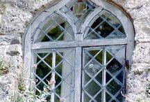 Windows, doors and building details