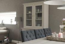 huisdecoratie landelijk living rooms