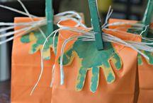 Halloween crafts for kids / Halloween for preschoolers