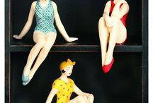Sculptures and figures