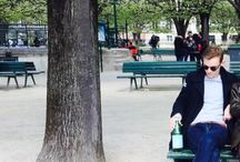 Paris / Young man in Paris