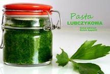 Lubczyk-pasta