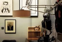 Collier Webb Designs / Interior spaces featuring Collier Webb furniture and lighting.